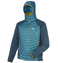 Millet Hybrid Wool Langtang giacca, Deep Horizon/Majolica Blue
