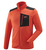 Millet Ieniessei - giacca in pile - uomo, Orange