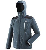 Millet K Shield Hoodie - Softshelljacke Bergsport - Herren, Blue