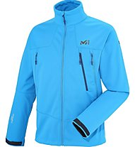 Millet K Wds Jkt Giacca Softshell alpinismo, Blue