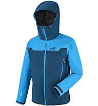 Millet Kamet 2 - GORE-TEX-Jacke Skitour - Herren, Light Blue/Blue
