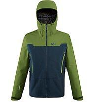 Millet Kamet Light GORE-TEX - Hardshelljacke Bergsport - Herren, Green/Blue