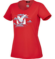 Millet Fog T-Shirt Damen, Rouge