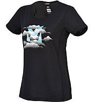 Millet Ld Fog - T-Shirt trekking - donna, Black