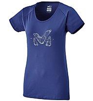 Millet LD Logo 2 TS - T-shirt - donna, Dark Blue