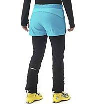 Millet Pierra Ment Alpha - kurze Skitourenhose - Damen, Light Blue