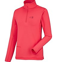 Millet Ld Tech Stretch Top Felpa in pile Donna, Red