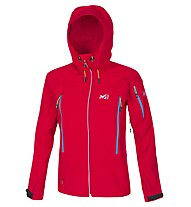 Millet Touring Shield Jacke Damen, Rouge