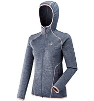 Millet LD Tweedy Mountain Hoodie - giacca in pile - donna, Blue