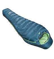 Millet Light Down 0° - sacco a pelo piuma, Blue/Green
