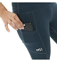 Millet LTK Intense Tight W - pantaloni corti trekking - donna, Dark Blue