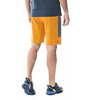 Millet LTK Speed Long S M - pantaloni trekking corti - uomo, Orange/Grey