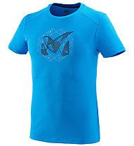 Millet M Logo 2 - T-Shirt Bergsport - Herren, Light Blue