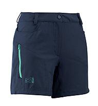 Millet Meije Stretch Short - pantaloni trekking corti - donna, Blue