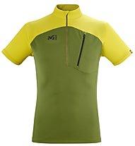 Millet Morpho Zip SS - Funktionsshirt - Herren, Green/Light Green