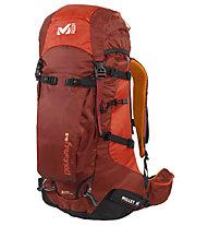 Millet Peuterey Integrale 35+10 - Zaino, Rouge/Marron (Red/Brown)