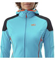 Millet Pierra Ment - Hybridjacke Skitouren - Damen, Light Blue