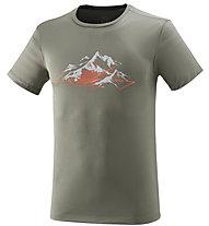 Millet Rock Stones - T-Shirt Bergsport - Herren, Grey