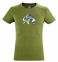Millet Summit Board TS SS M - T-shirt - Herren, Green