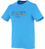 Millet Summit T-Shirt, Electric Blue