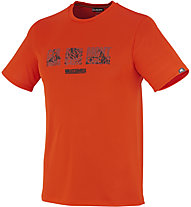 Millet Summit T-Shirt, Bright Orange