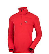 Millet Techno Stretch Pullover, Rouge