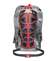 Millet Trilogy 20 - zaino arrampicata, Grey/Red