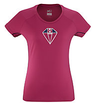 Millet Trilogy DE Diamond TS SS - Funktionsshirt - Damen, Pink
