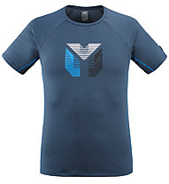 Millet Trilogy Delta Prisme - T-shirt - uomo, Blue