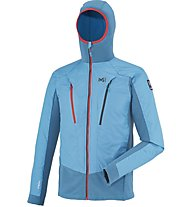 Millet Trilogy Dual Advanced Jkt Giacca con cappuccio, Blue