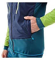Millet Trilogy Dual Alpha D - giacca ibrida con cappuccio - uomo, Green