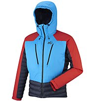 Millet Trilogy Dual Primaloft - Giacca con cappuccio scialpinismo - uomo, Red/Blue