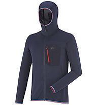 Millet Trilogy Light - giacca in pile con cappuccio - uomo, Blue