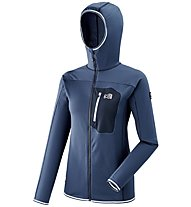 Millet Trilogy Lightgrid Hoodie - giacca in pile - donna, Blue
