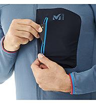 Millet Trilogy Lightgrid Hoodie - giacca in pile - uomo, Blue