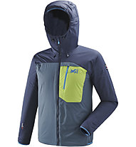 Millet Trilogy One Alpha - giacca con cappuccio - uomo, Blue