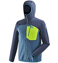 Millet Trilogy One Cordura - giacca softshell - uomo, Blue/Green