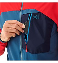 Millet Trilogy One Cordura - giacca softshell - uomo, Red/Blue