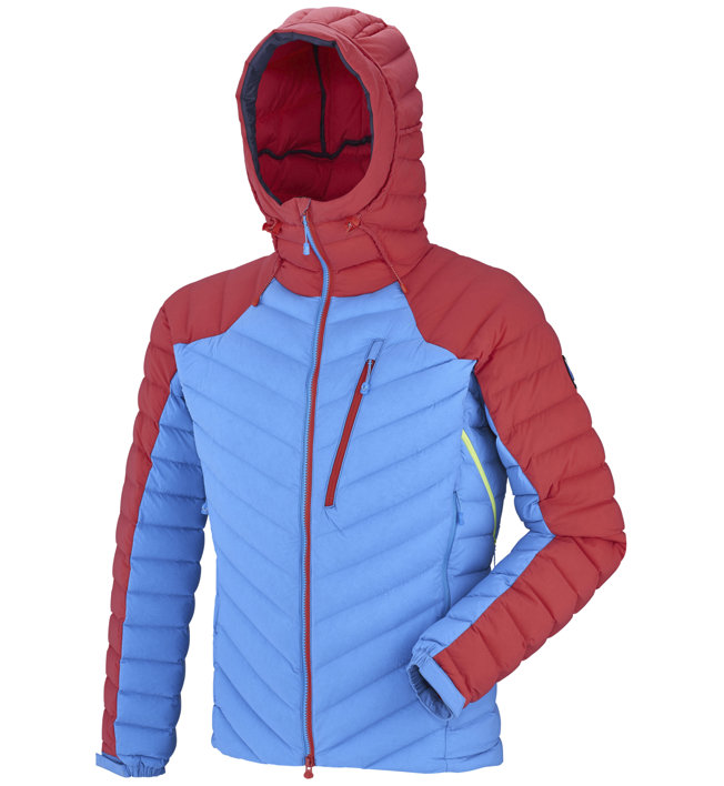 Millet Trilogy Synth Stretch Dwn - giacca in piuma - uomo, Red/Blue