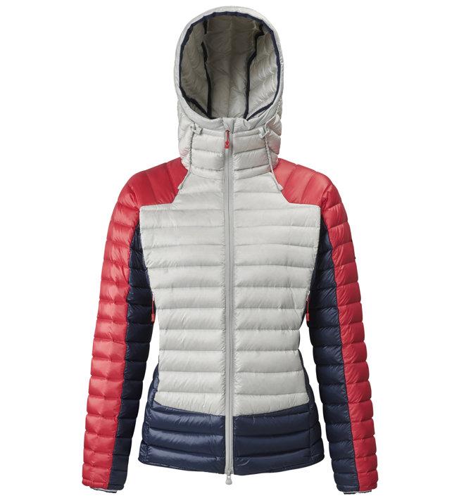 Millet Trilogy Synth' X - giacca in piuma con cappuccio - donna, White/Red