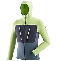 Millet Trilogy Ultimate Power Hoodie - giacca con cappuccio - uomo, Green/Blue