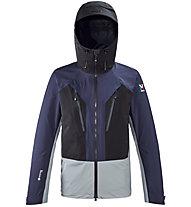 Millet Trilogy V Icon Dual GTX Pro - giacca hardshell - uomo, Blue/Grey