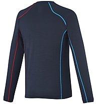 Millet Trilogy Wool Ts Ls Herren T-Shirt Langarm, Blue