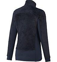 Millet Trilogy X Wool Jkt Damen Fleecejacke mit Kapuze, Blue