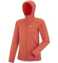 Millet Tweedy Mountain - Fleecejacke mit Kapuze - Damen, Red