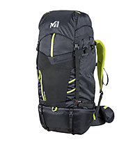 Millet Ubic 50+10 - zaino trekking, Black