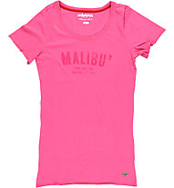 Mistral Long tee, Fuxia