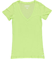 Mistral V-Neck Short Sleeve Tee, Lime