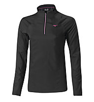 Mizuno Breath Thermo Windtop Damen, Black