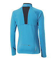Mizuno Warmalite Top - maglia running donna, Caribbean Sea
